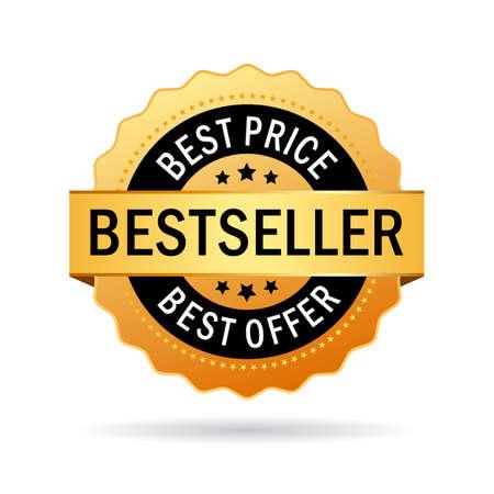 Bestseller icon Vector