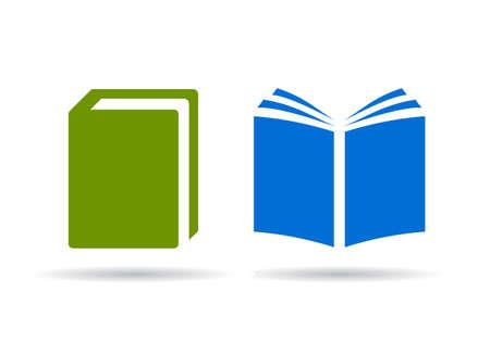 libro abierto: Iconos vectoriales libro