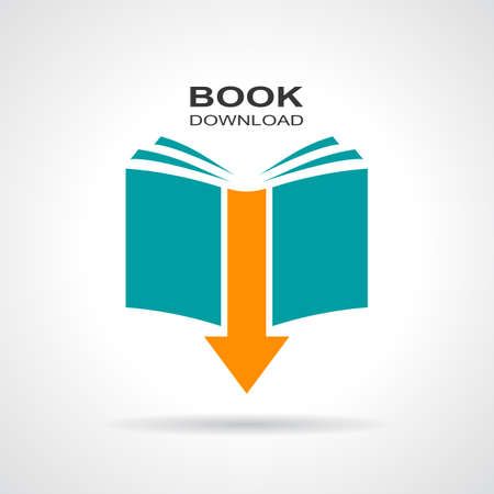 catalog background: Book download icon