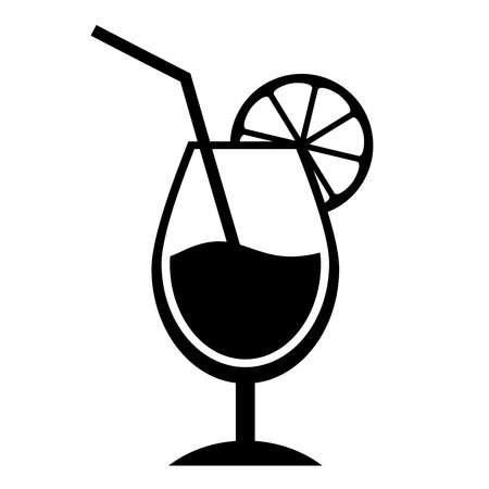 glass cup: Coctail icon