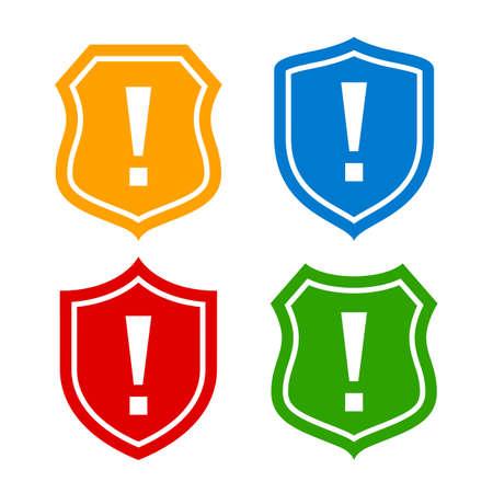 Schild Schutzsymbol Standard-Bild - 37426136