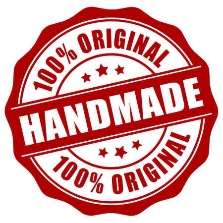 Handmade stamp Vettoriali