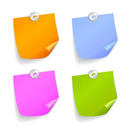 Quadratische Aufkleber Standard-Bild - 37426791