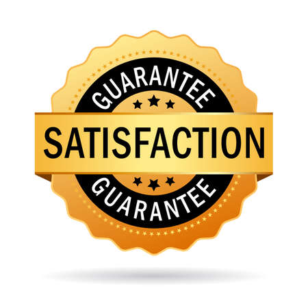 badge logo: Satisfaction guarantee icon