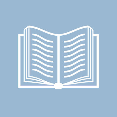 Book vector icon Vector
