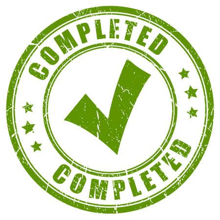completato: Completato timbro tick