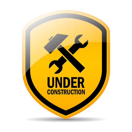 upkeep: Under construction sign