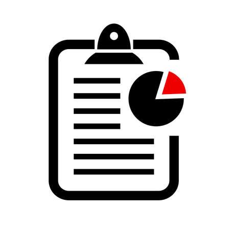 report form: Report vector icon Illustration
