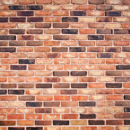 fulvous: Old brick wall background