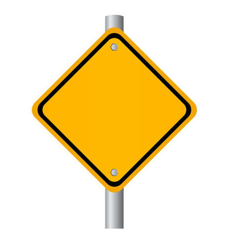 blank road sign: Blank road sign