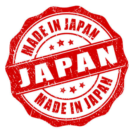 Made in japan stamp