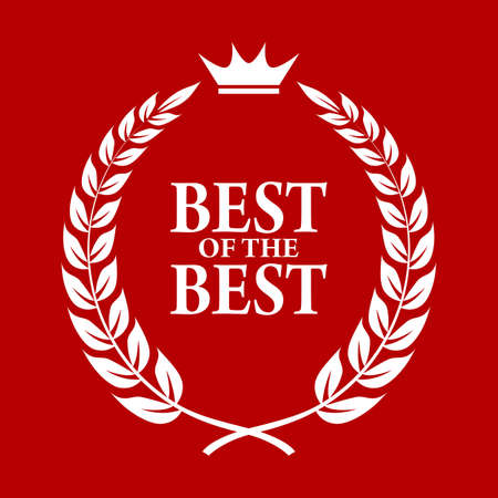 top seller: Best of the best icon Illustration