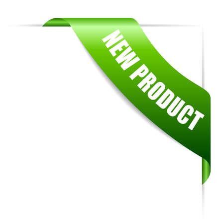 New product ribbon Vector