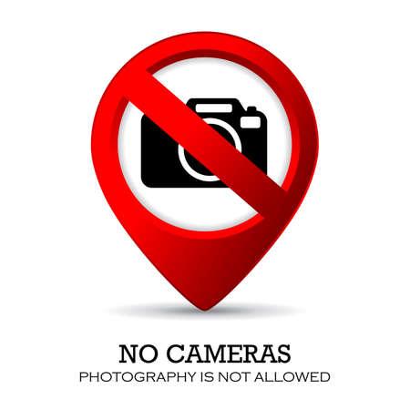 no photo: No camera sign Illustration