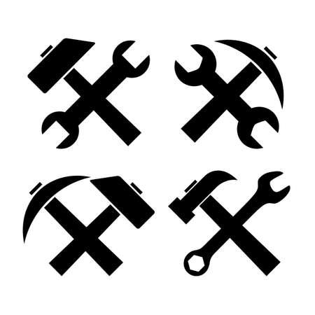 recondition: Work tools icon Illustration