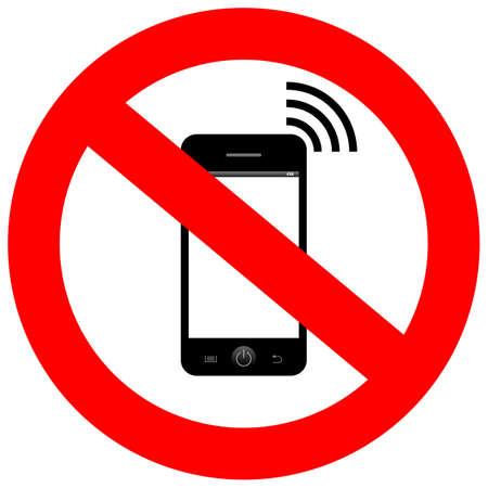 zellen: Kein Handy Zeichen