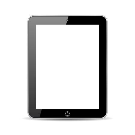 Tablet pad, abstract model