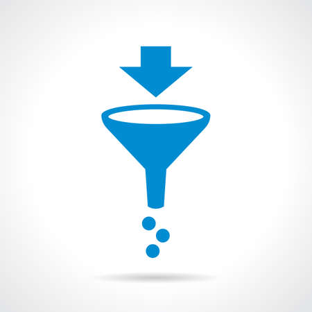 sifting: Funnel filter icon
