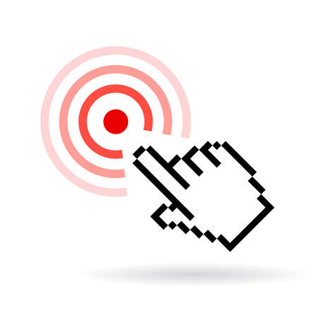touch sensitive: Click icon