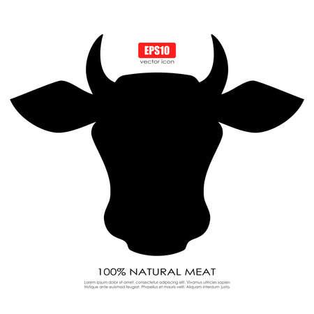 vaca: Icono de la vaca