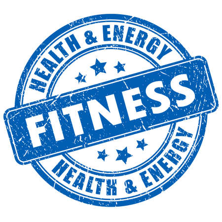 healthy exercise: Fitness stamp
