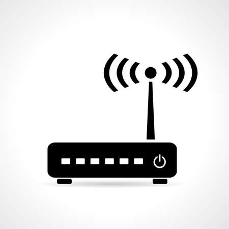 internet  broadband: Router icon