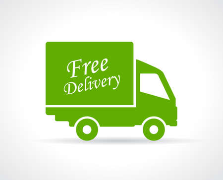 Free delivery truck icon Vector
