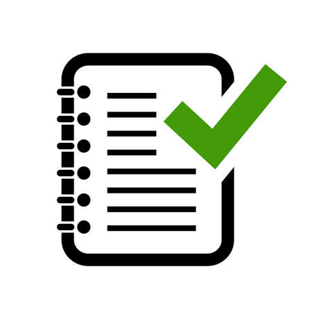 Document Grammatik Steuer icon Standard-Bild - 39301735