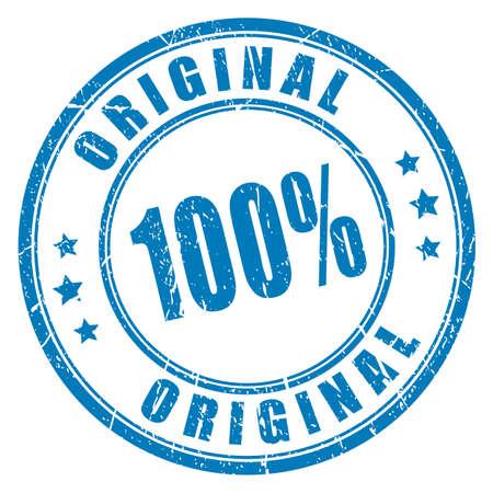 100 original vector stamp Illustration