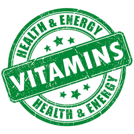 vitamin rich: Vitamins stamp