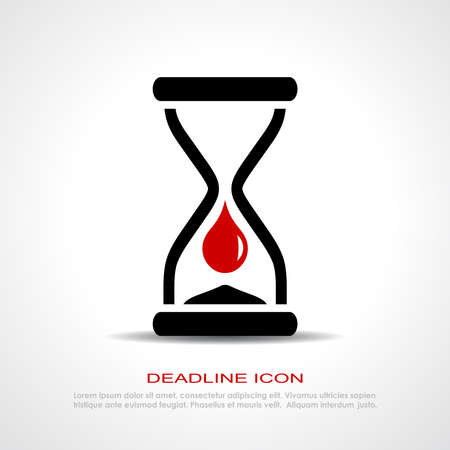 time out: Deadline icon