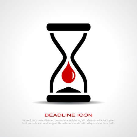over the counter: Deadline icon