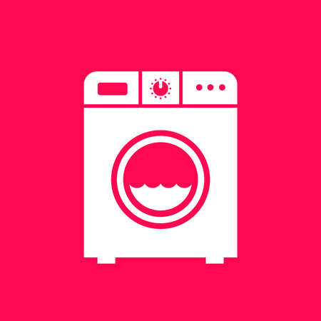 Washing machine sign Vector
