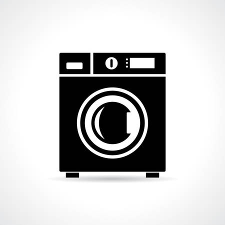 washhouse: Washing machine vector illustration Illustration