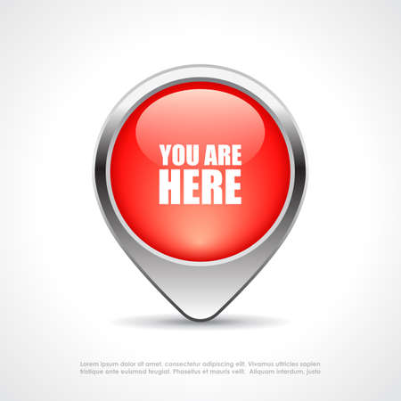 You are here map marker