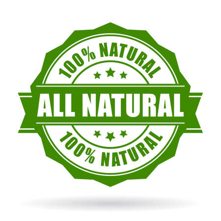 seal: All natural vector icon