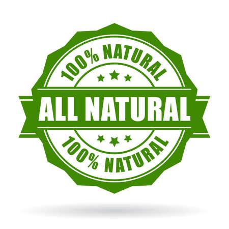 natur: Alle natürlichen Vektor-Icon-