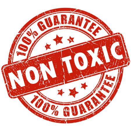 Non toxic stamp Vectores
