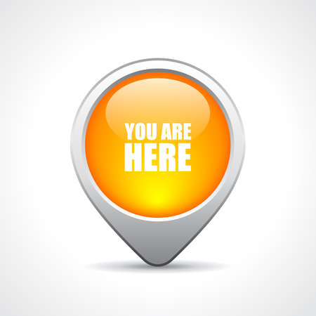 Location pin button