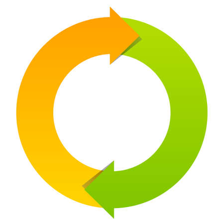 Two part cycle diagram