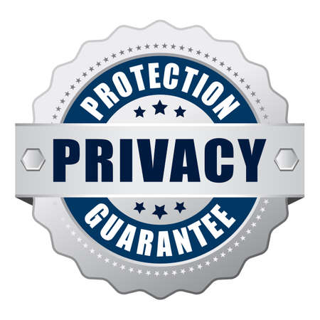 Confidentialité garantie de protection icône Vecteurs