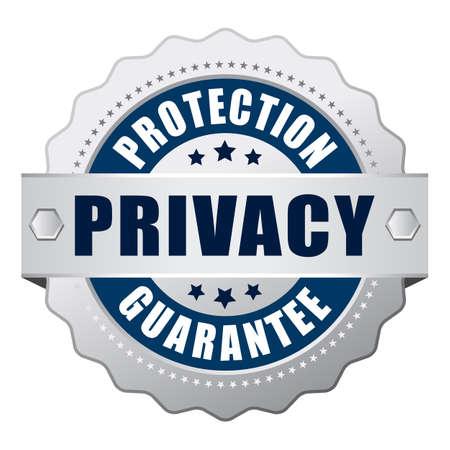 proteccion: Privacidad icono garantía de protección
