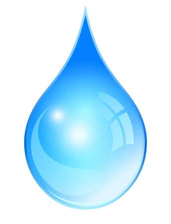 물방울 일러스트