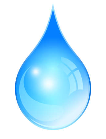 vasos de agua: Gota de agua