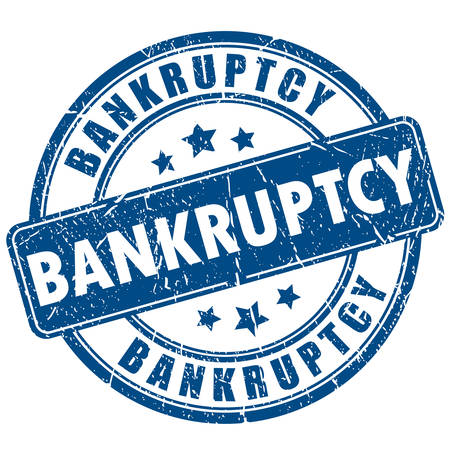penniless: Bankruptcy stamp
