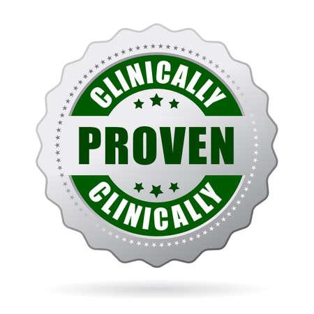 Klinisch erprobte icon Standard-Bild - 40826548