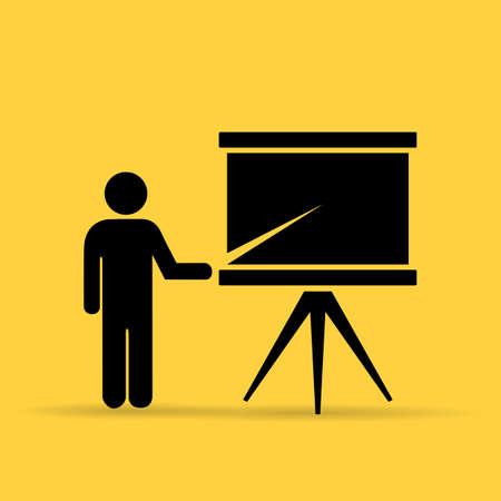 Teacher icon Illustration