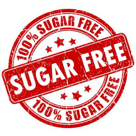 설탕 무료 스탬프 일러스트