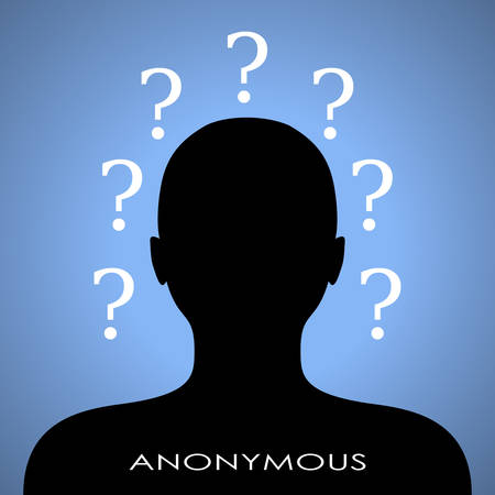 censorship: Anonymous internet user