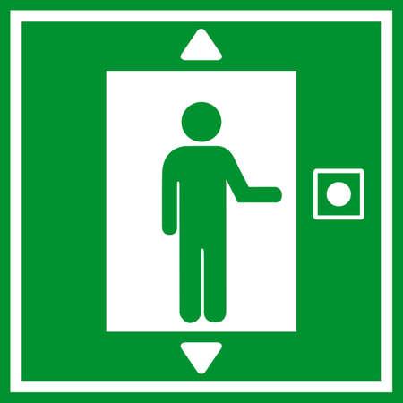 Lift icon Vector
